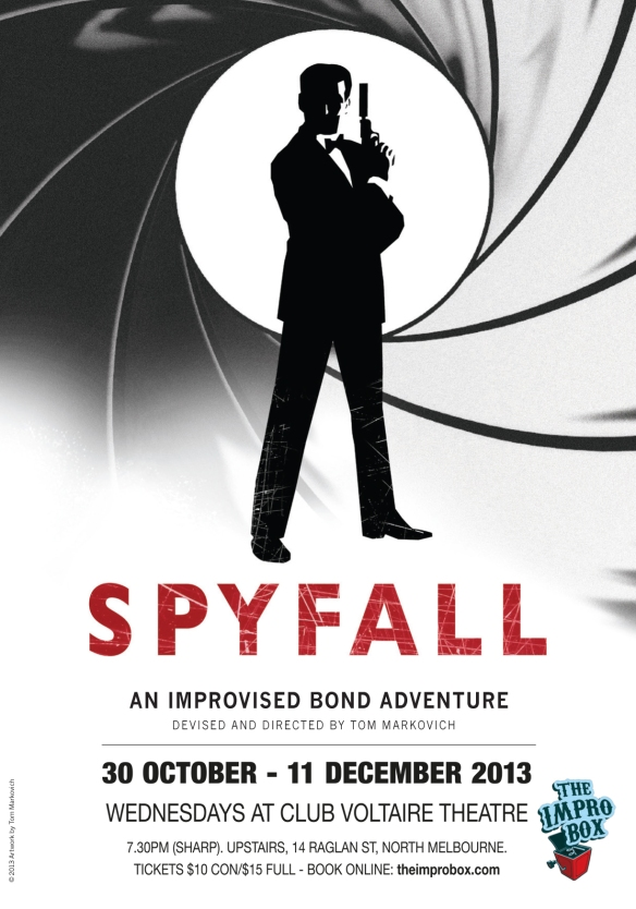 Spyfall, poster by Tom Markovich